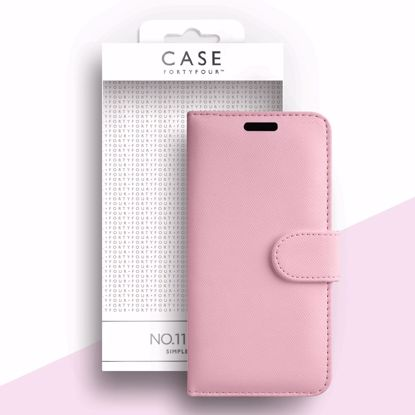 Picture of Case FortyFour Case FortyFour No.11 for Samsung Galaxy A51 in Cross Grain Light Pink